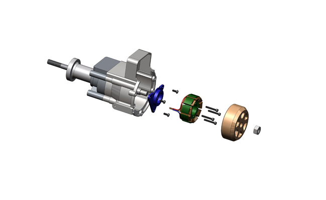 Zenoah G26 with S676-230C-01_CAD_EXPLODE_650x400